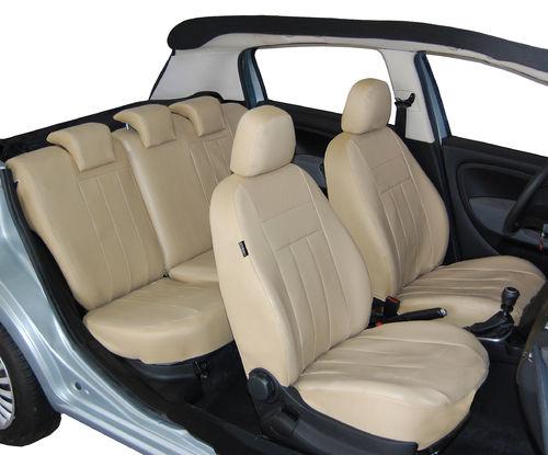 Opel Insignia 2008-2016 Maßgefertigt Maß Sitzbezüge Kunstleder schwarz grau