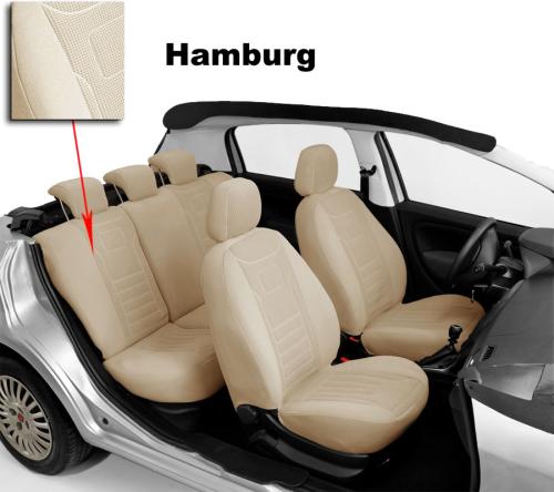 VGG1 AUDI A4 B5 Avant Maßgefertigte Atmungsakttive Velours Sitzbezüge